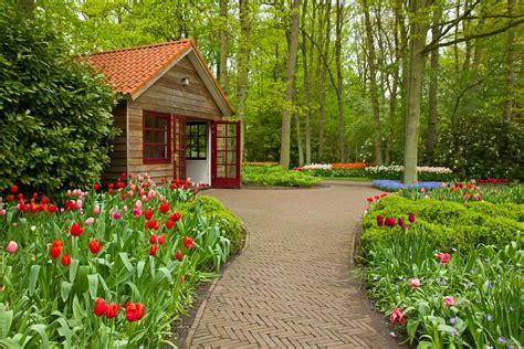 jardines de casas de campo