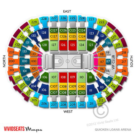 Cavs Vip Floor Seats by Quicken Loans Arena Tickets Quicken Loans Arena