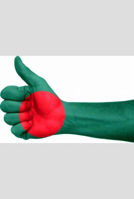 Bangladesh Flag Hand · Free image on Pixabay