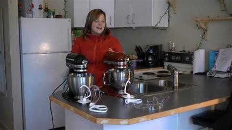 kitchenaid classic  kitchenaid artisan mixer review