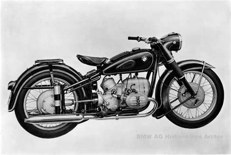 Vintage, Bmw And Motorcycles