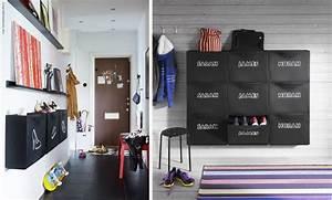 Grand Meuble A Chaussure : un rangement pour chaussures sur mesure mademoiselle ~ Melissatoandfro.com Idées de Décoration