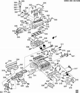 1998 Camaro V6 3800 Engine Diagram