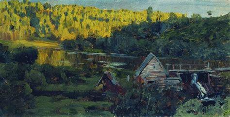 Watermill - Isaac Levitan - WikiArt.org - encyclopedia of ...