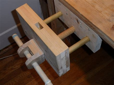 woodwork wooden vice  plans