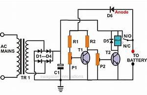 Automatic Car Battery Charger Circuit Diagram 24v Battery