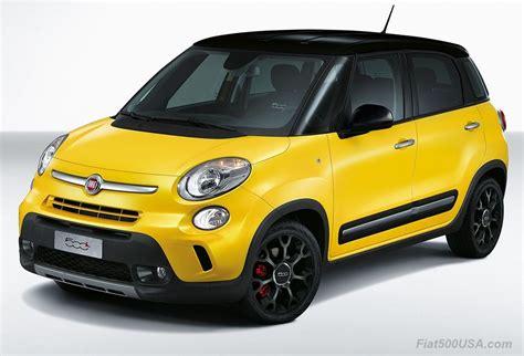 Fiat 500l Price Usa by Fiat 500 Usa