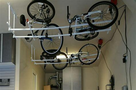 bicycle ceiling storage rack garaginization dfws garage
