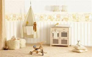 Teppich Im Babyzimmer : babyzimmer tapeten 27 kreative und originelle ideen ~ Markanthonyermac.com Haus und Dekorationen