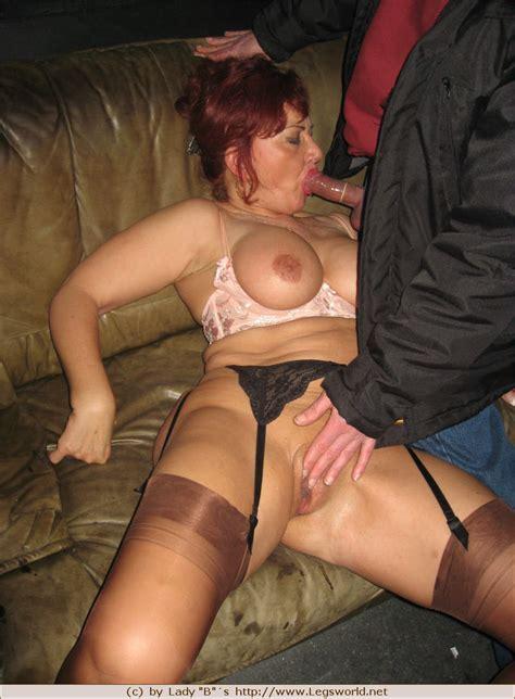 lady barbara mix feet tits