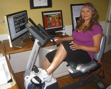 Recumbent Bike Desk Chair by Recumbent Bicycle As Desk Chair To Lose Weight