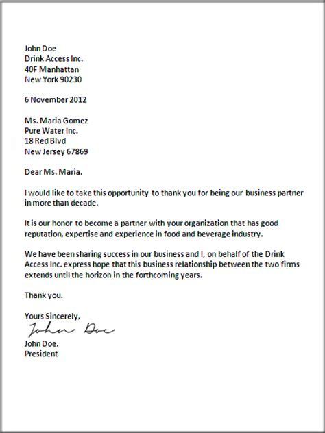 business letter format letter pinterest business