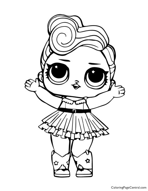 LOL Surprise Luxe Coloring Page Coloring Page Central