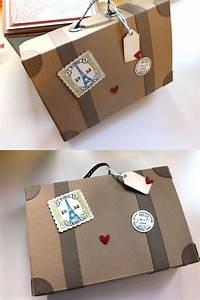 Selbstgemachte Gutscheine Für Freund : koffer collage andere l nder pinterest geschenke koffer und box ~ Eleganceandgraceweddings.com Haus und Dekorationen