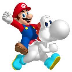 Black and White Mario Yoshi