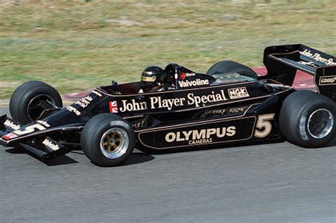 F1 #5 1978 Lotus 79 At Wine Country Classic