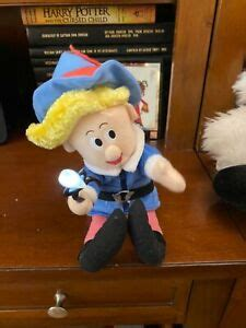 """(later known as rankin/bass productions). Rudolph the Red Nosed Reindeer """"Hermey"""" Musical Light-Up ..."""