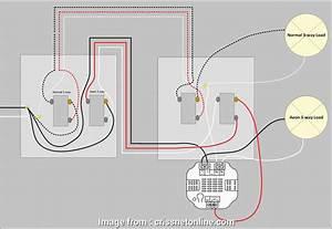 How To Wire  Way Light Switch New Four  Switch Wiring