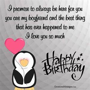 Romantic Birthday Wishes for Boyfriend - Occasions Messages