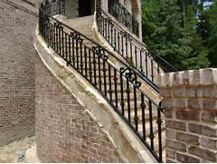 Outdoor Metal Handrails For Stairs by Outside Iron Rails For Stairs