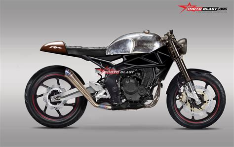 Modifikasi Cafe Racer Matic by Kumpulan Odifikasi Motor Cb Cafe Racer Terbaru