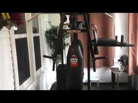 york mega max exercising machine youtube