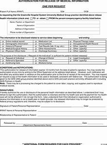 request for release of medical records template