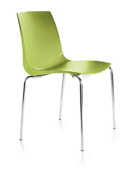chaise de réunion chaises réunion sally coque polypropylène lot de 6