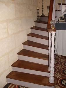 revgercom peinture sur escalier bois exotique idee With peindre escalier bois en blanc 4 conseil pour couleur escalier et portes