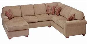 Flexsteel thornton 3 piece sectional with chaise olinde for Flexsteel sectional sofa with chaise