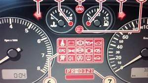 Cluster Lights Meaning Seat Leon Mk1 Dashboard Warning Lights Symbols What