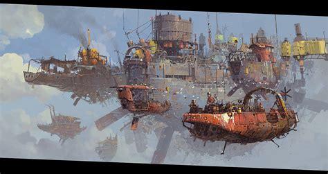 fantasy fantasy art digital art flying objects wallpapers