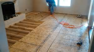 Installing Laminate Flooring On Concrete by Sunken Living Room Renovationz