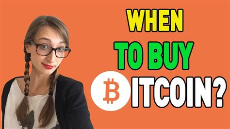 You can only know the right thing to do when a. When Is The Right Time to Buy Bitcoin? Debate - YouTube