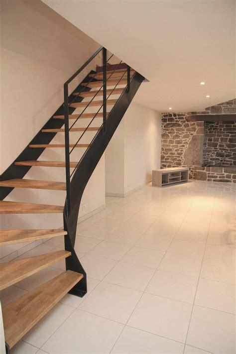 Escalier Maison Quart Tournant  Escaliers Pinterest