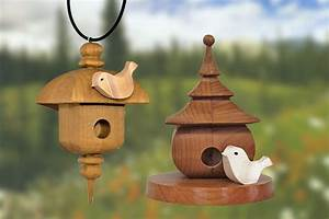 Decorative Birdhouses - Scroll Saw Woodworking & Crafts