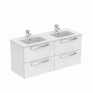 ensemble meuble et lavabo plan suspendu 120 ulysse porcher With meuble ulysse ideal standard
