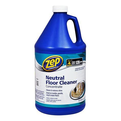 zep  oz neutral floor cleaner case   zuneut