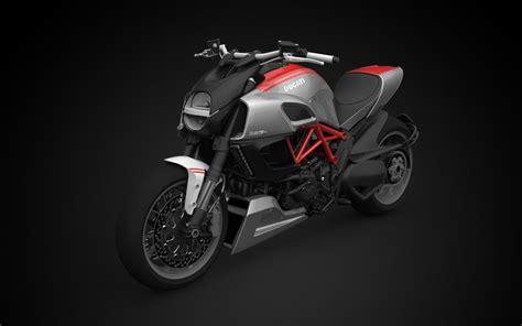 2018 Ducati Diavel Carbon 3d Model Obj 3ds Fbx C4d