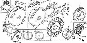Honda Engines Gx160k1 Qax Engine  Jpn  Vin  Gc02