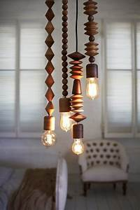 Beaded hanging lamp buy a kit from the