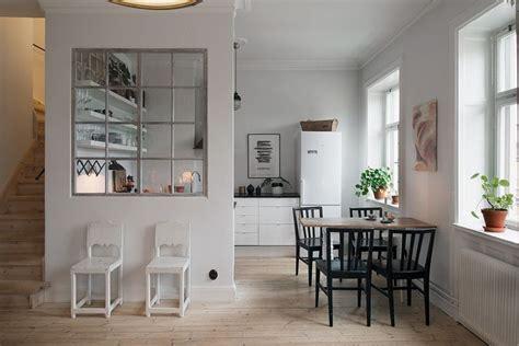 cloison cuisine salon entre la cuisine et le salon cloison ou verrière e