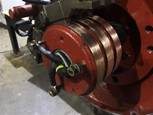 Overhaul Of Brush 112kw  985 Rpm  3 Phase Slip Ring Motor