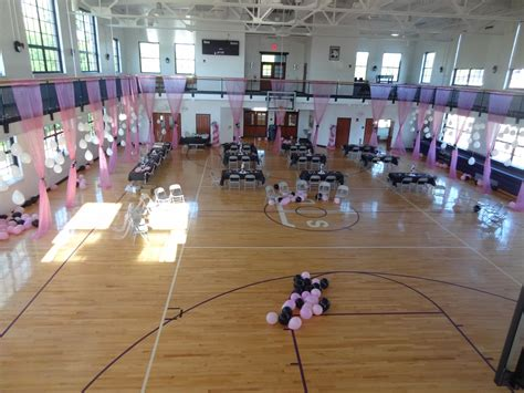 Used Prom Decorations - prom on a budget i decorated our gymnasium for around