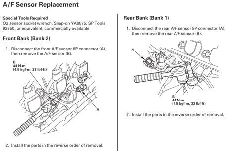 sensor preventative maintenance mpg question page