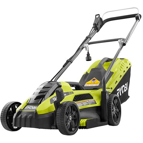 Ryobi 13 In 11 Amp Corded Electric Walk Behind Push Mower