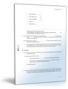 maklervertrag suchauftrag mietobjekt vorlage zum