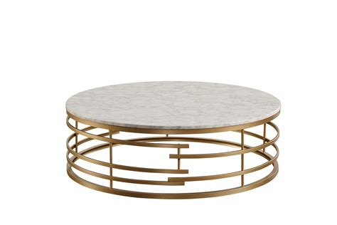 36 round tempered glass golden frame coffee table. Home Elegance Brassica Gold Round Coffee Table | The Classy Home