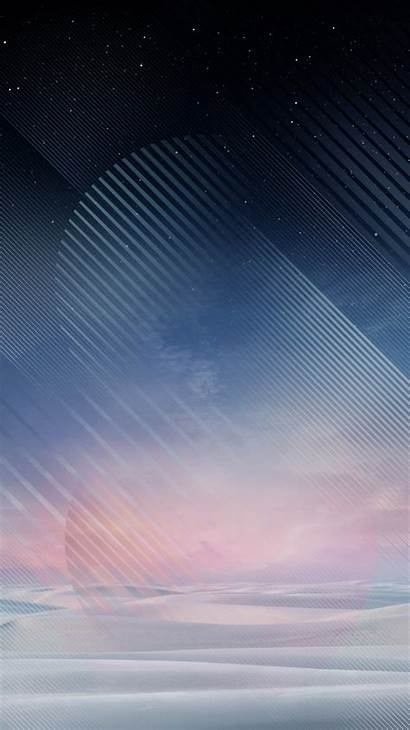 Note Samsung Galaxy Wallpapers Android Sky Oreo