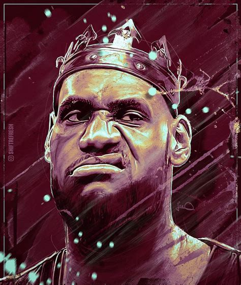 lebron james nba wallpaper poster   skythlee